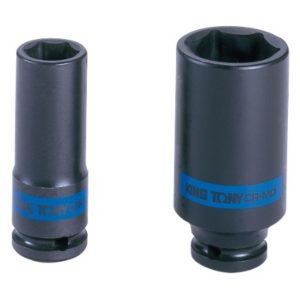 """3pc Injector Pipe Socket Set 14mm  17mm 19m 1//2/"""" Drive 100mm Long Injection Line"""